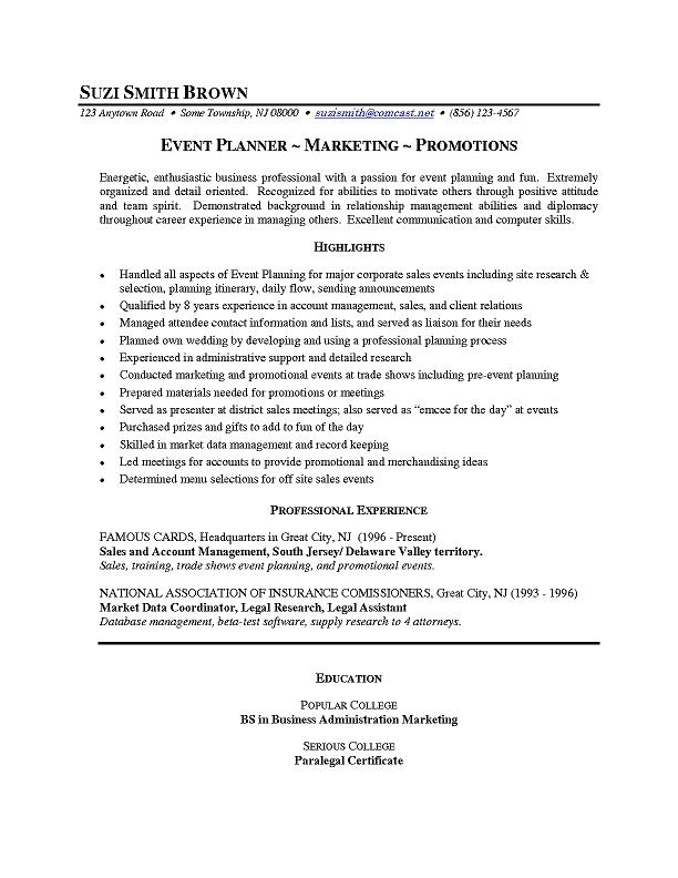 Sample Career Changer Event Planner_1
