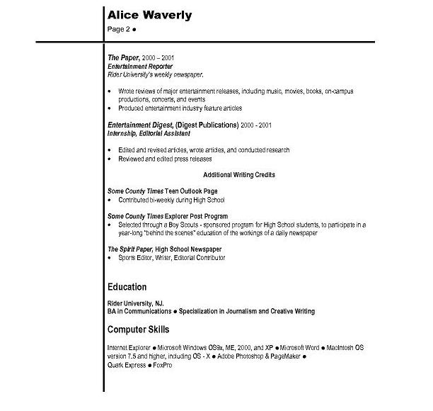 dynamic resume template